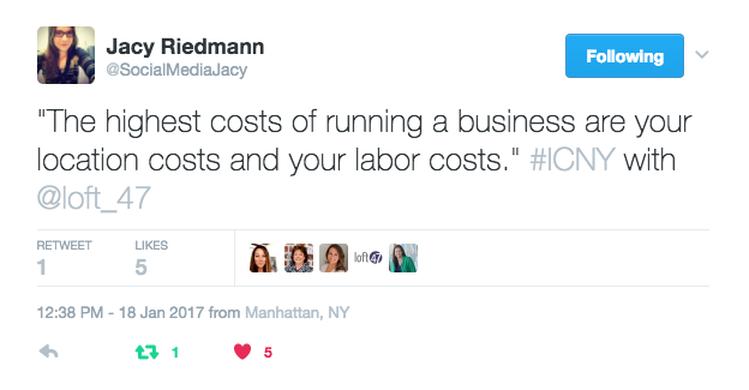 Tweet From Loft47